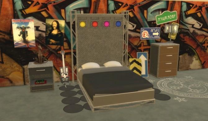 Sims 4 Rockn Roll Set at Leander Belgraves