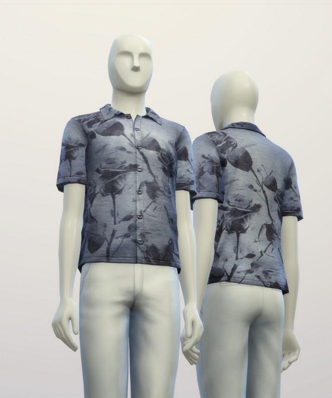 Floral Polo Shirt at Rusty Nail image 6721 670x804 Sims 4 Updates