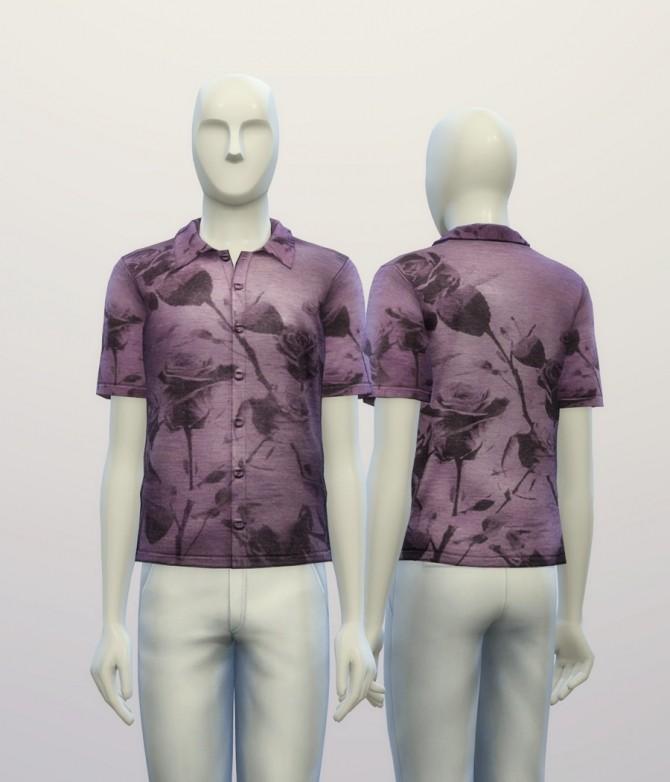 Floral Polo Shirt at Rusty Nail image 6820 670x782 Sims 4 Updates