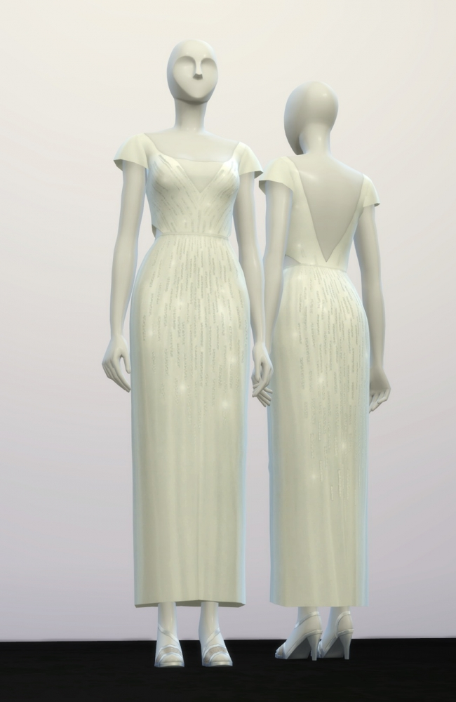 Lily S Wedding Dress At Rusty Nail 187 Sims 4 Updates