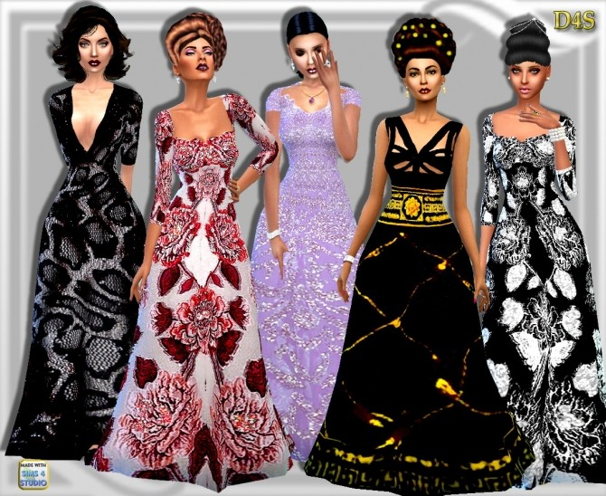 The Long of IT Set of 12 Formal wear at Dreaming 4 Sims image 7219 670x548 Sims 4 Updates