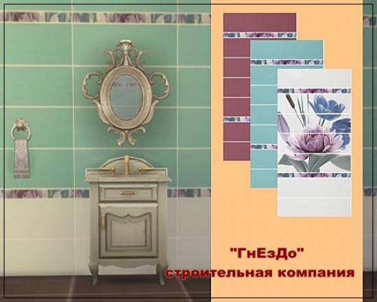 Diplomatic ceramic tiles at Sims by Mulena image 7318 Sims 4 Updates