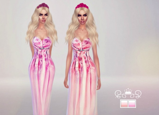 Sims 4 Aphrodite Dress at Fashion Royalty Sims