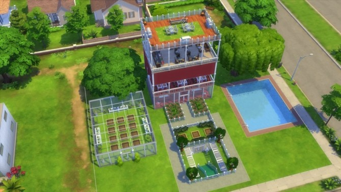Whats in There? modern house by Vishnu132 at Mod The Sims image 748 670x377 Sims 4 Updates