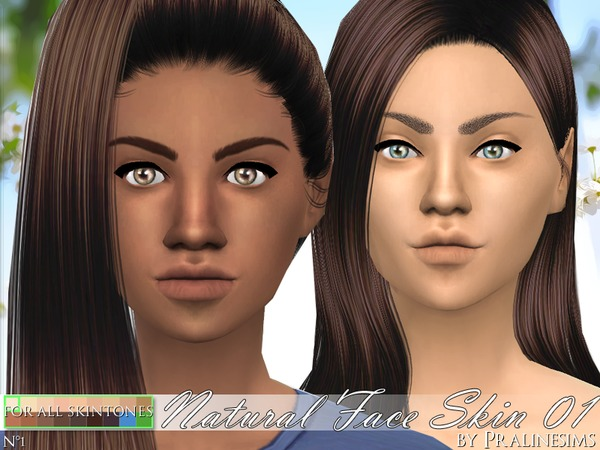 PS Natural Face Skin 01 by Pralinesims at TSR image 750 Sims 4 Updates