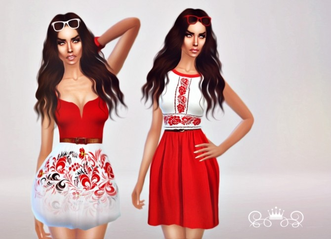 Sims 4 Modern Russian Traditional Collection at Fashion Royalty Sims