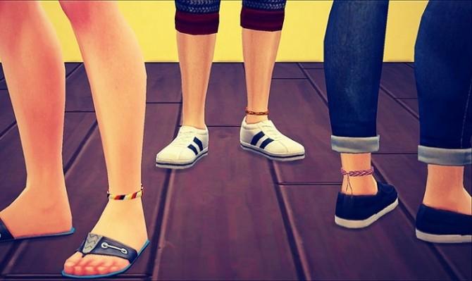 Misanga ankle bracelet at SIMPLE STUDIO 404 image 7622 670x399 Sims 4 Updates