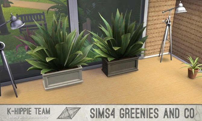 2 Plants 10 Recolours Greenies volume 1 & 2 at K hippie image 7623 670x402 Sims 4 Updates