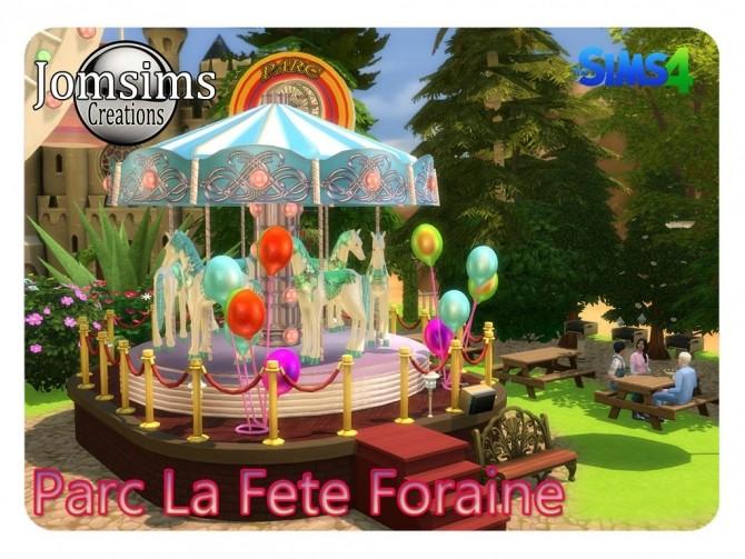 La Fete Foraine Decorative Park At Jomsims Creations