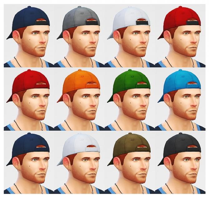 Sims 4, female Hats
