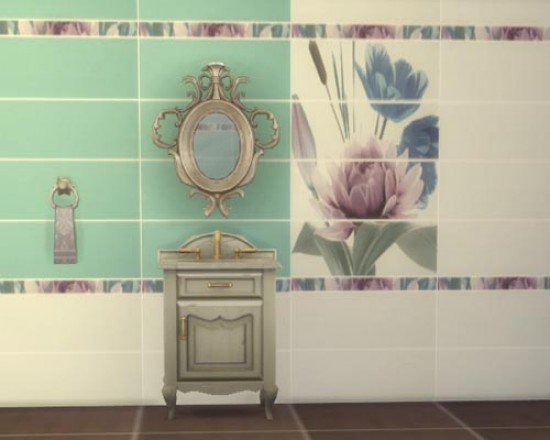Diplomatic ceramic tiles at Sims by Mulena image 7815 Sims 4 Updates