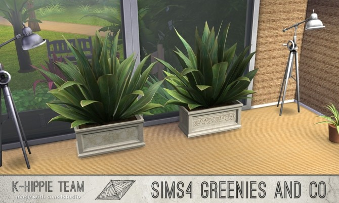 2 Plants 10 Recolours Greenies volume 1 & 2 at K hippie image 7825 670x402 Sims 4 Updates