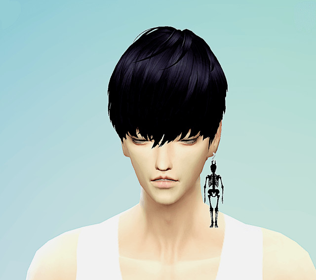 Sims 4 Skeleton earrings at Marigold