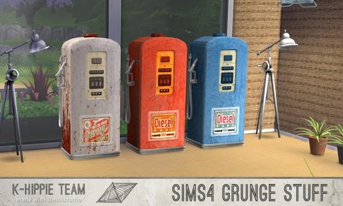 10 gas pump recolours Grunge Stuff volume 1 & 2 at K hippie image 8026 670x402 Sims 4 Updates
