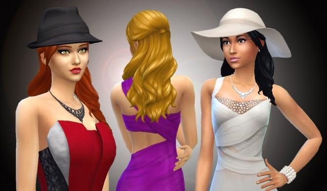 Sims 4 Long Wavy Without Bangs at My Stuff