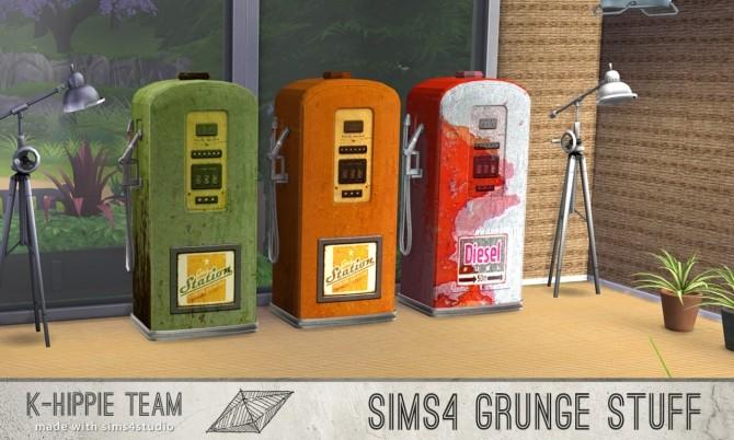 10 gas pump recolours Grunge Stuff volume 1 & 2 at K hippie image 8130 670x402 Sims 4 Updates