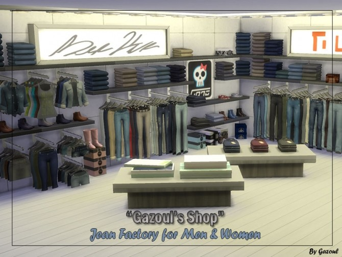 Work clothing store