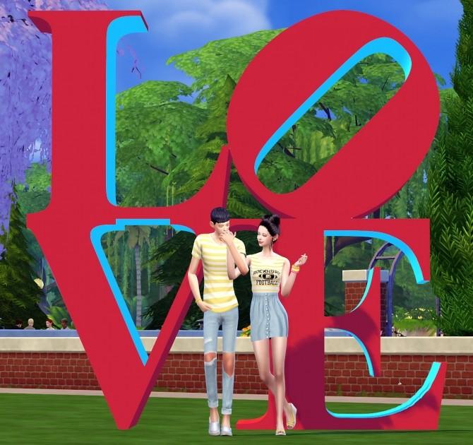 Dominationkid, Kiru, Dearkim LOVE collaboration: sculpture & poses at Dominationkid image 8225 670x630 Sims 4 Updates