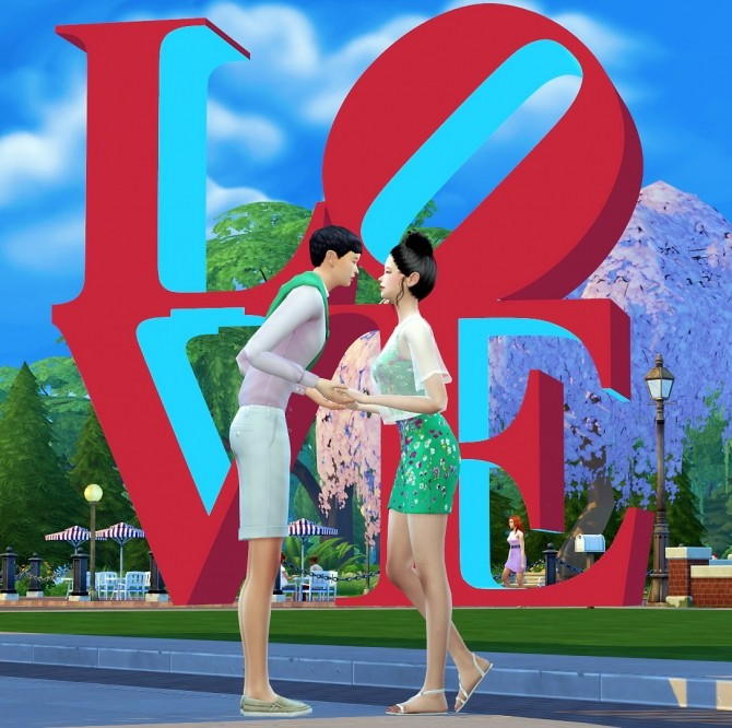 Dominationkid, Kiru, Dearkim LOVE collaboration: sculpture & poses at Dominationkid image 8324 670x666 Sims 4 Updates
