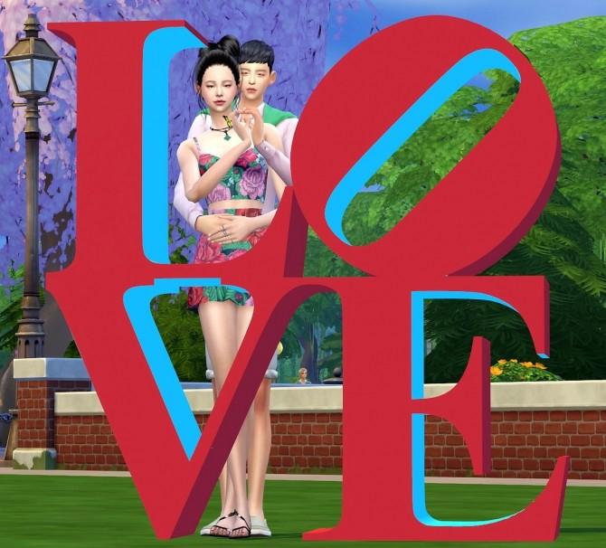 Dominationkid, Kiru, Dearkim LOVE collaboration: sculpture & poses at Dominationkid image 8424 670x606 Sims 4 Updates
