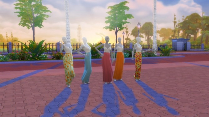 Springtime Maxi Dresses at Marvin Sims image 86 670x377 Sims 4 Updates