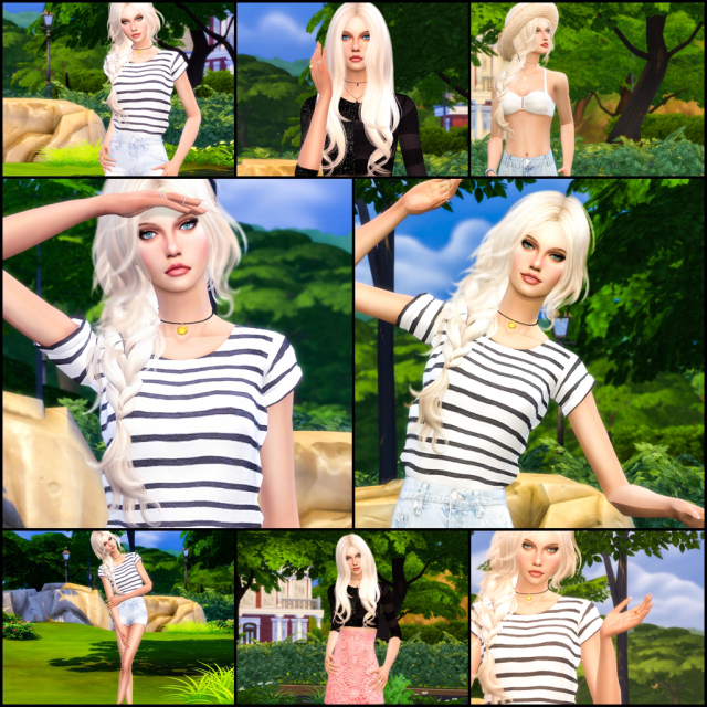 8 Summer Poses for Cas and InGame by Dreacia at My Fabulous Sims image 8611 Sims 4 Updates