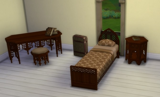 Moroccan Bedroom Furniture ~ Moroccan bedroom set at lexicon luthor sims updates