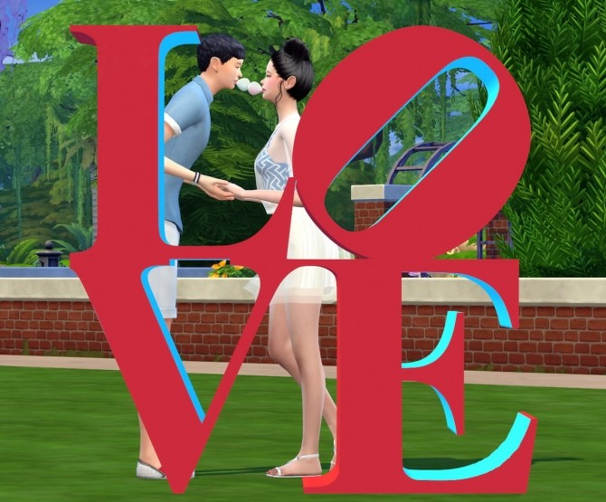 Dominationkid, Kiru, Dearkim LOVE collaboration: sculpture & poses at Dominationkid image 8819 670x555 Sims 4 Updates