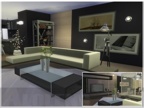 Sims 4 Banshee house by aloleng at TSR