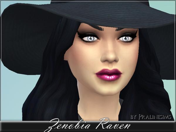 Sims 4 Zenobia Raven by Pralinesims at TSR