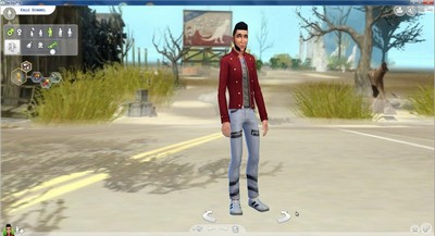 Sims 4 5 CAS Backgrounds Set 1 at Nowa24
