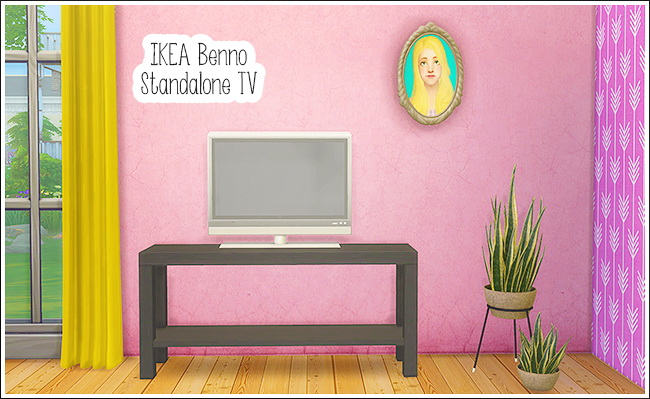 Sims 4 IKEA Benno Standalone TV at Lina Cherie
