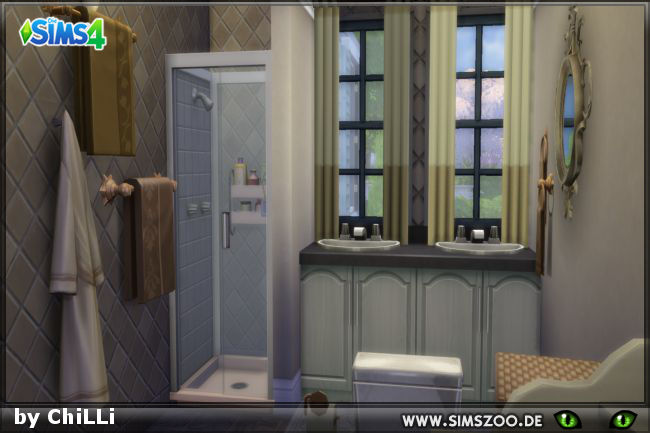 Sims 4 Mini bathroom by ChiLLi at Blacky's Sims Zoo