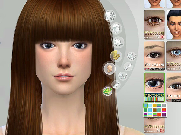 Sims 4 Eyecolors 12 by S Club WM at TSR