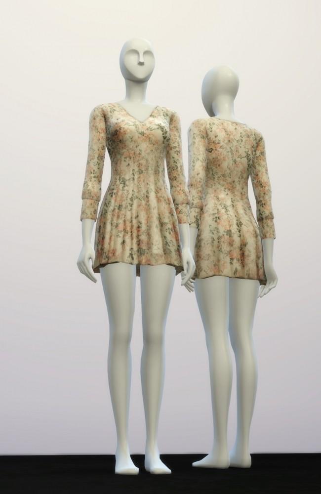 V.W. dress 4 colors at Rusty Nail image 942 650x1000 Sims 4 Updates