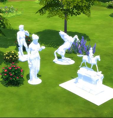 Sims 4 Statue at Meinkatz Creations