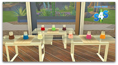 Sims 4 Ohbehave's Spring Lounge Clutter Item conversions at Cool panther Sims 4 Haven