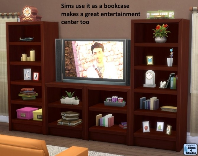 Vertically Challenged Single Intellect Bookcase at Sims 4 Studio image 949 670x528 Sims 4 Updates