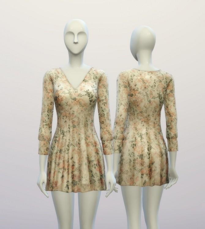 V.W. dress 4 colors at Rusty Nail image 951 670x749 Sims 4 Updates