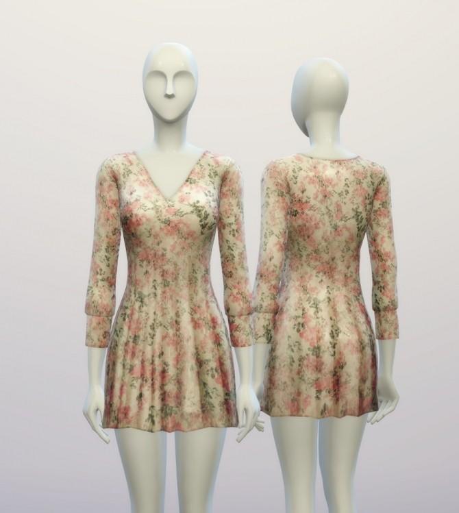 V.W. dress 4 colors at Rusty Nail image 961 670x749 Sims 4 Updates