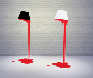 Sims 4 Bleeding Lamps at Meinkatz Creations