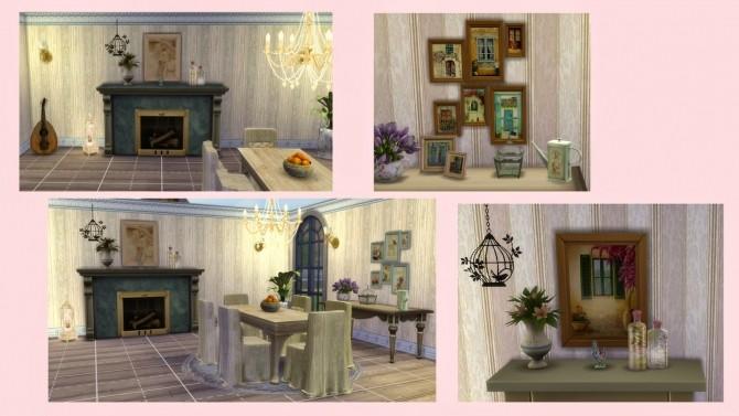 Sims 4 CHIC PARISIEN set at Alelore Sims Blog