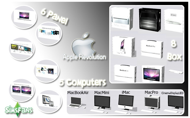 Sims 4 Ts2 To Ts4 Conversion Apple Revolution by Marco13 at Sims Fans