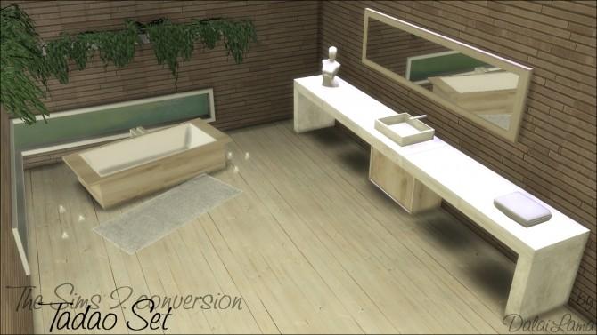 Sims 4 Tadao Set by DalaiLama at The Sims Lover