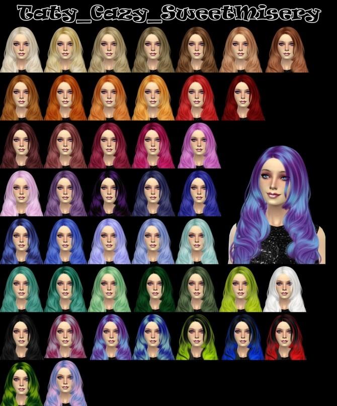 Cazys Sweet Misery hair retexture at Taty – Eámanë Palantír image 974 670x807 Sims 4 Updates