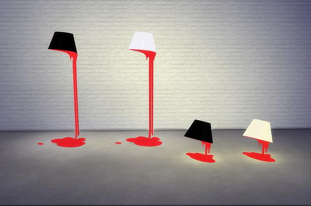 Bleeding Lamps at Meinkatz Creations image 976 Sims 4 Updates