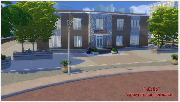 Sims 4 Stones hospital at Sims by Mulena