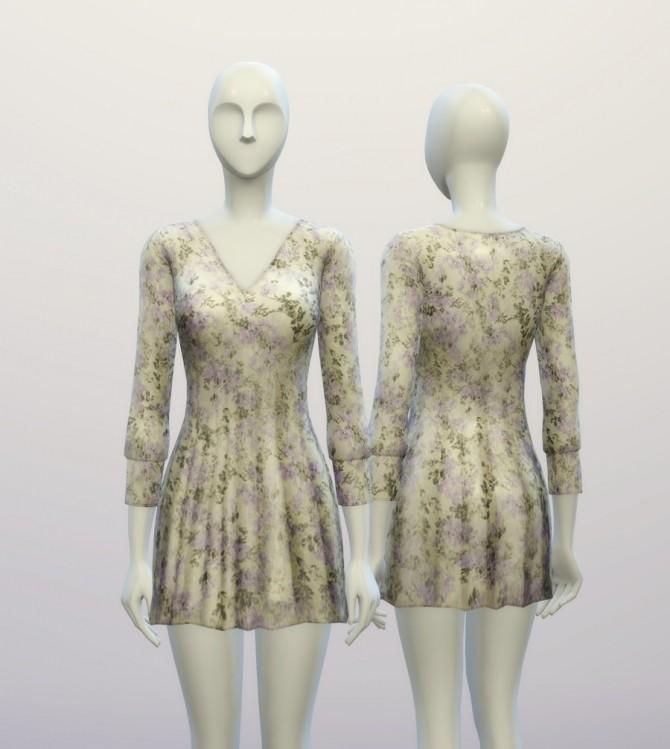 V.W. dress 4 colors at Rusty Nail image 982 670x749 Sims 4 Updates