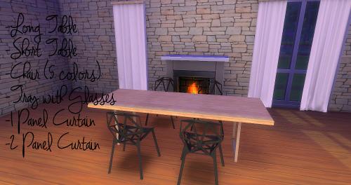 Gosiks Sharto dining set conversion at LindseyxSims image 988 Sims 4 Updates