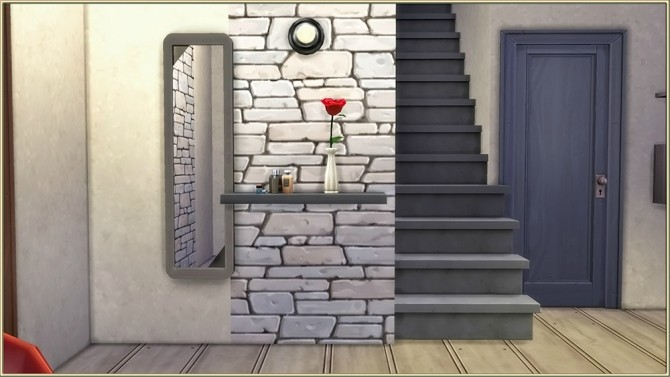 Stones starter house by fatalist at ihelensims image 1002 670x377 Sims 4 Updates